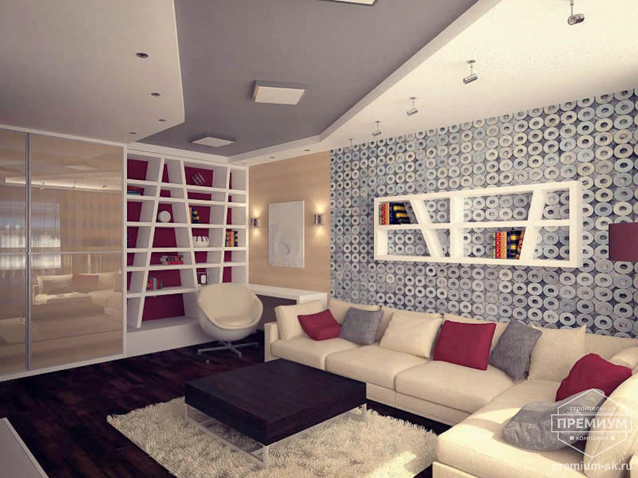 Дизайн интерьера однокомнатной квартиры по ул. Сыромолотова 11 img1305626655