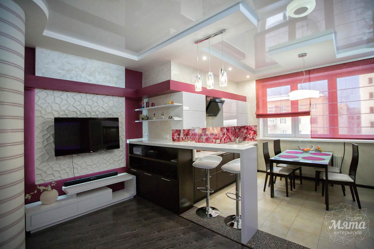 Дизайн интерьера и ремонт трехкомнатной квартиры по ул. Попова 33а 11