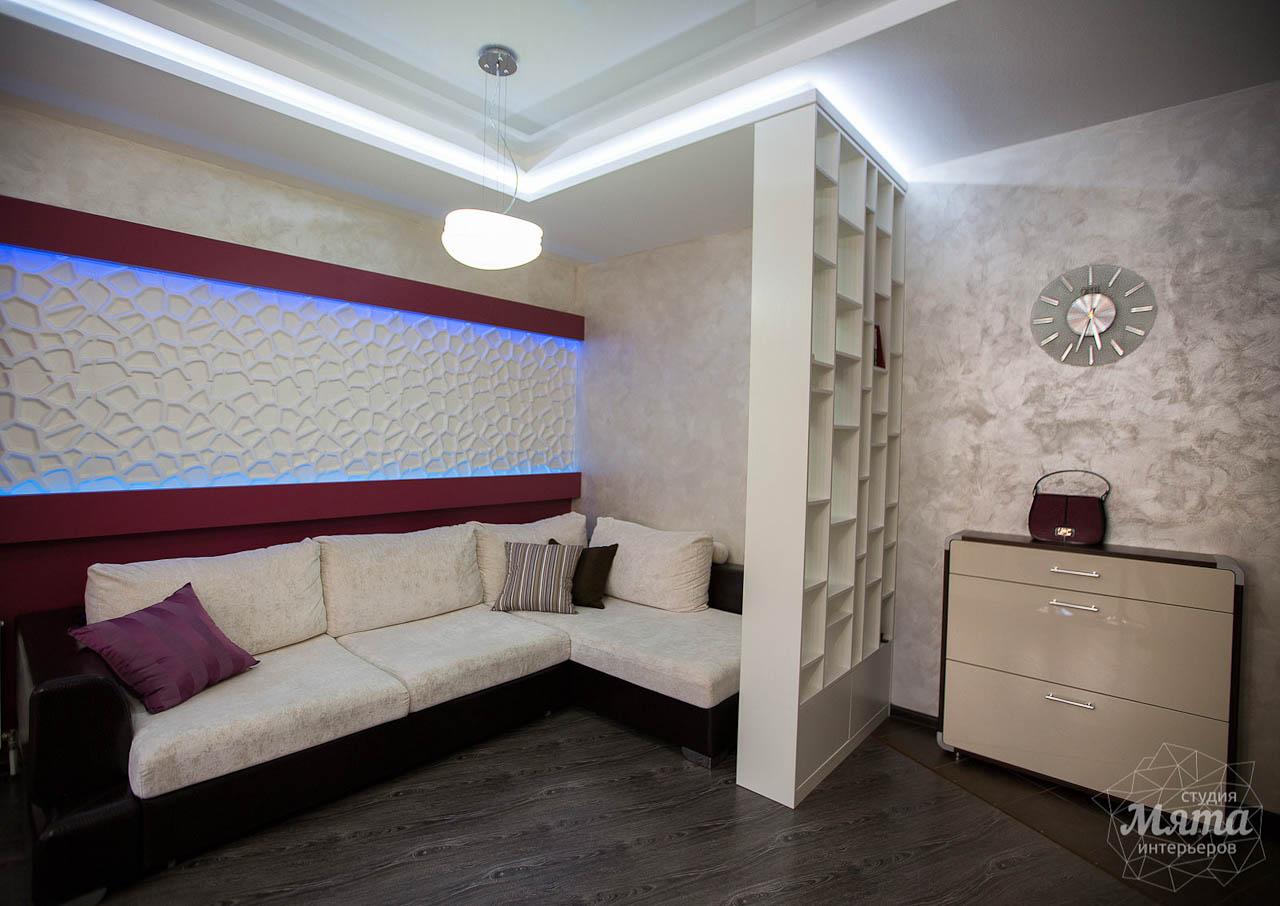 Дизайн интерьера и ремонт трехкомнатной квартиры по ул. Попова 33а 13