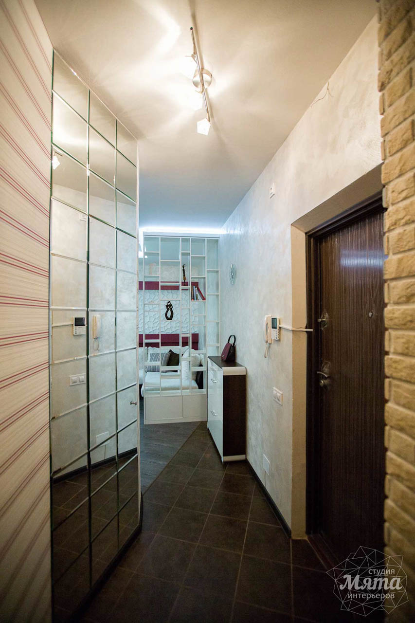 Дизайн интерьера и ремонт трехкомнатной квартиры по ул. Попова 33а 15
