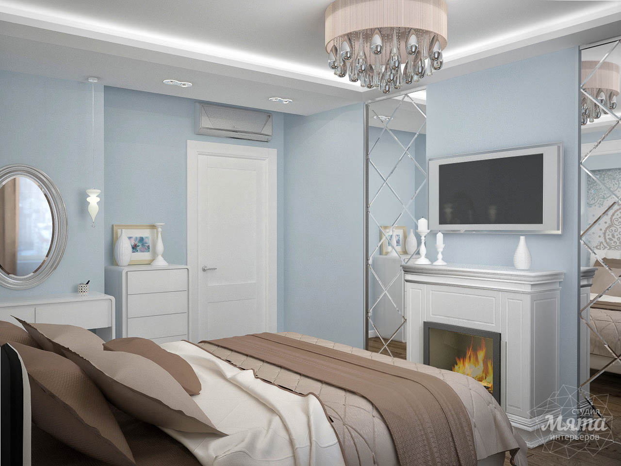 Дизайн интерьера и ремонт трехкомнатной квартиры по ул. Фучика 9 img1221448416