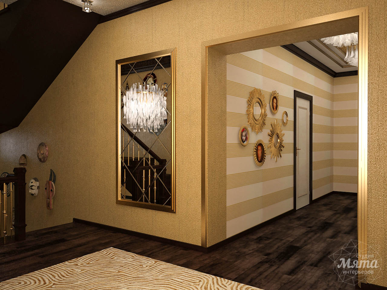 Дизайн интерьера коттеджа по ул. Ландышевая 23 img1618001062