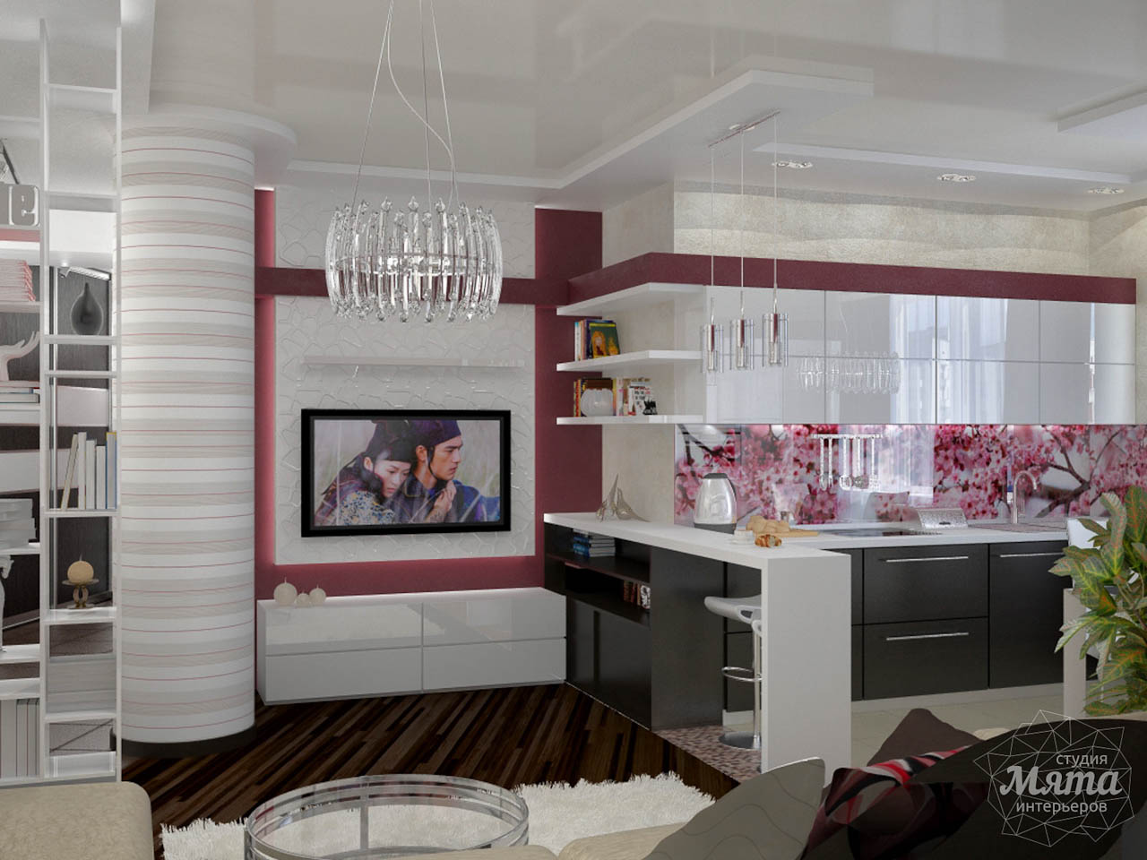 Дизайн интерьера и ремонт трехкомнатной квартиры по ул. Попова 33а img982695258