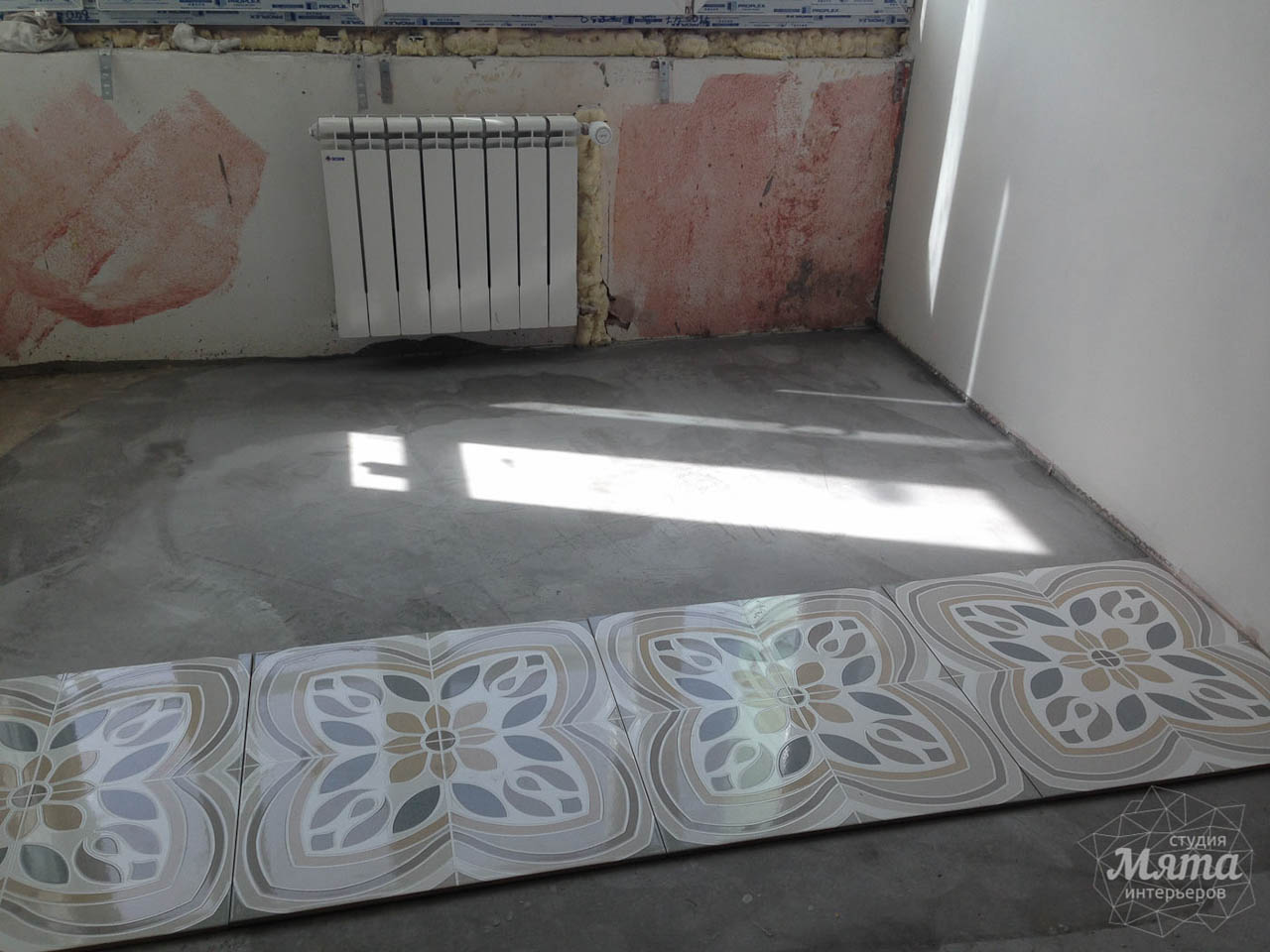 Дизайн интерьера и ремонт трехкомнатной квартиры по ул. Фучика 9 38