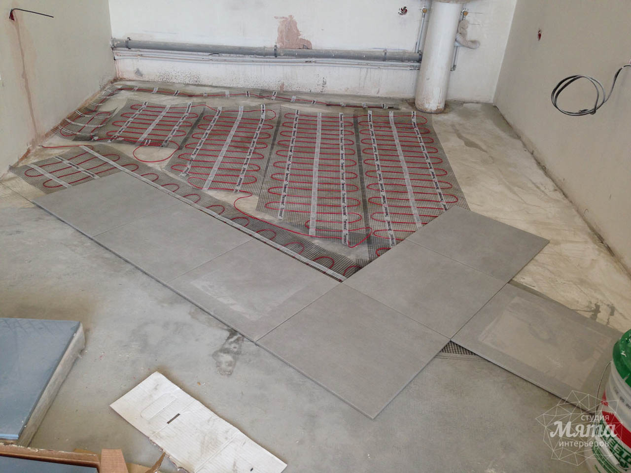 Дизайн интерьера и ремонт трехкомнатной квартиры по ул. Фучика 9 35