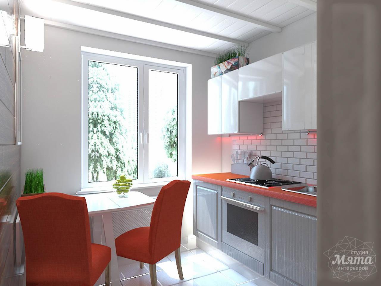 Дизайн интерьера однокомнатной квартиры в стиле минимализм по ул. Чапаева 30 img802743018
