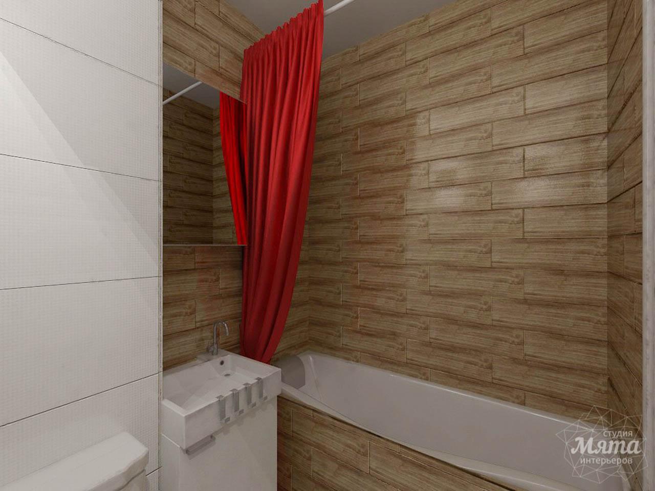 Дизайн интерьера однокомнатной квартиры в стиле минимализм по ул. Чапаева 30 img180705427