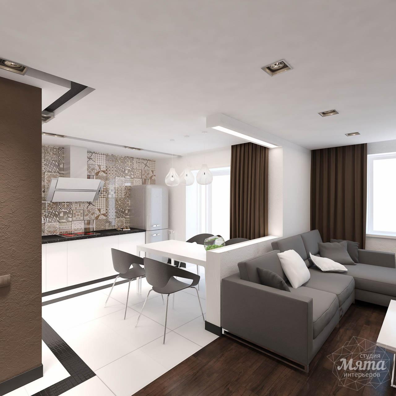 Дизайн интерьера однокомнатной квартиры по ул. Гагарина 27 img36326404