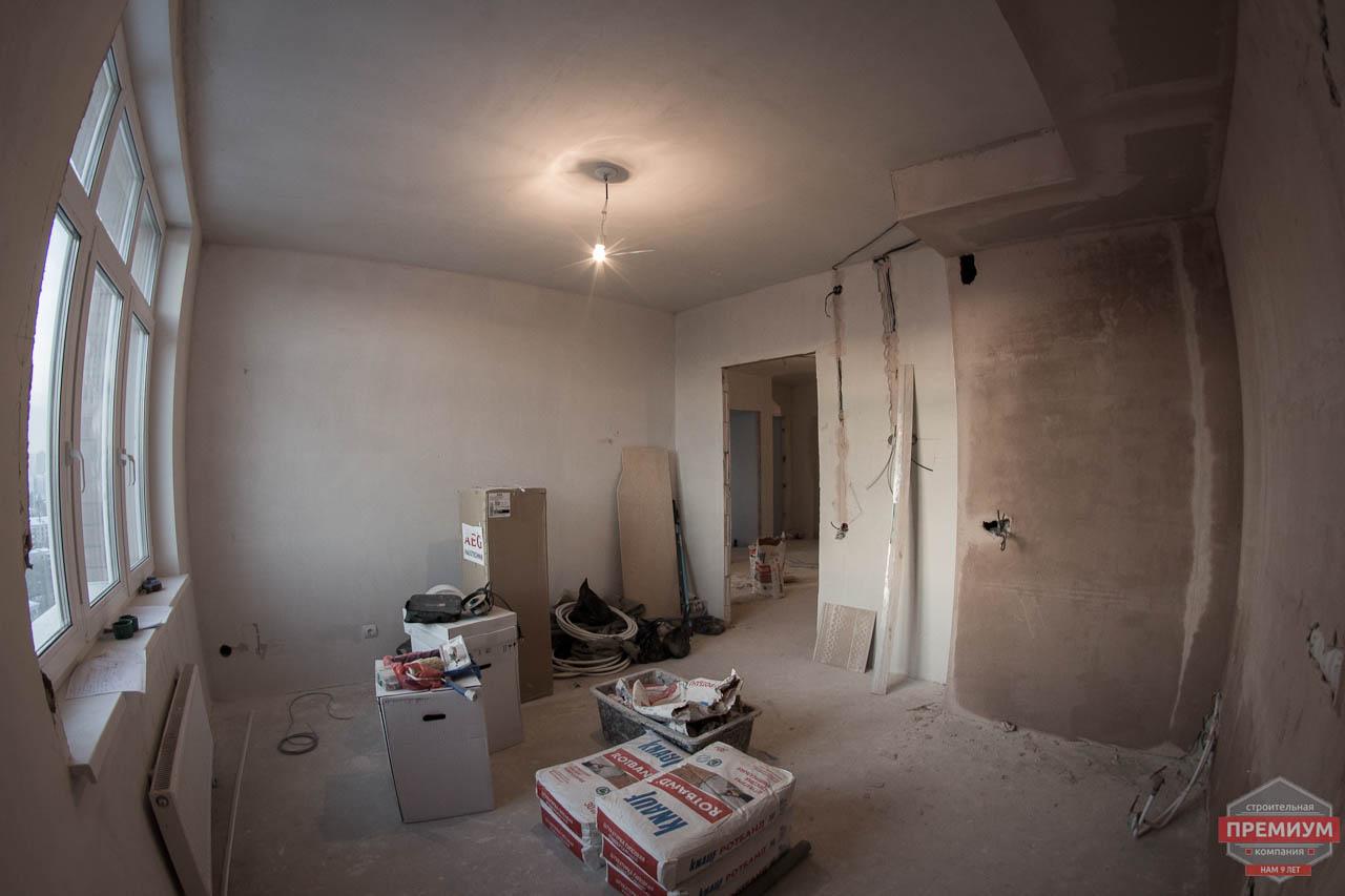 Дизайн интерьера  и ремонт трехкомнатной квартиры по ул. Машинная 44 27