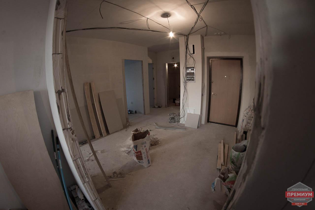 Дизайн интерьера  и ремонт трехкомнатной квартиры по ул. Машинная 44 29