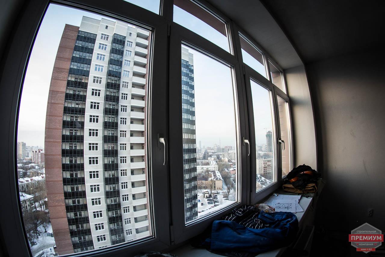 Дизайн интерьера  и ремонт трехкомнатной квартиры по ул. Машинная 44 32
