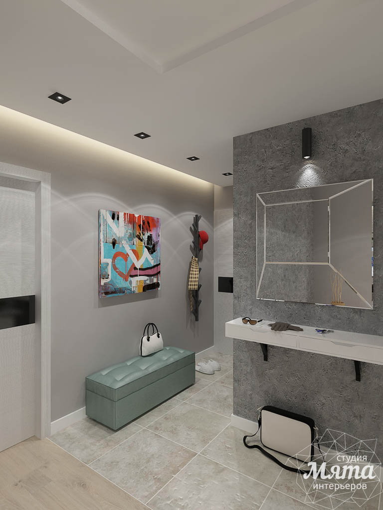 Дизайн интерьера двухкомнатной квартиры в ЖК Крылов img1847519224