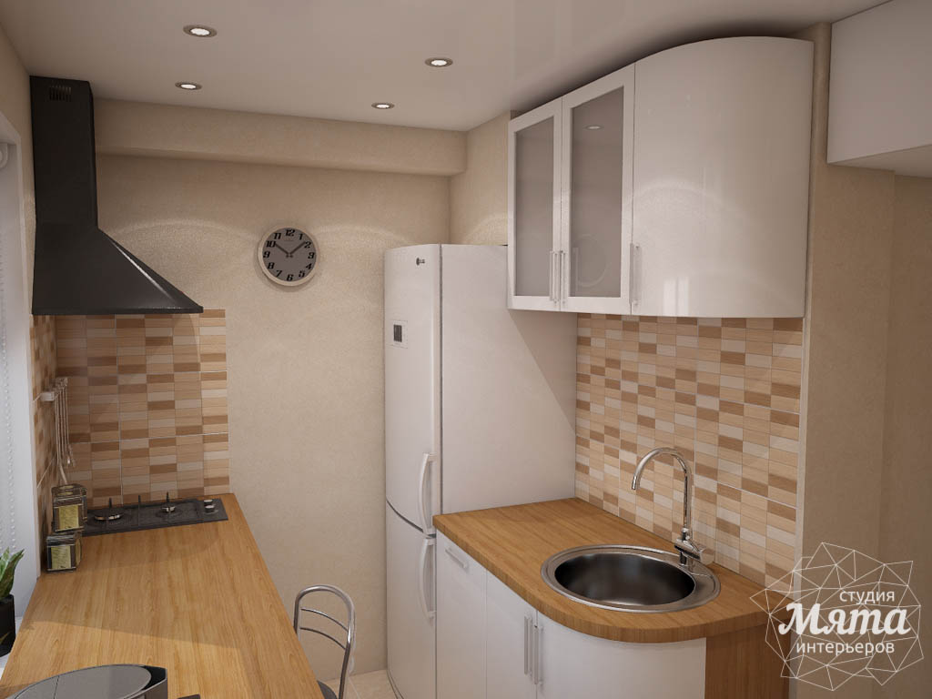 Дизайн интерьера однокомнатной квартиры по ул. 40 лет Октября 11 img502171570