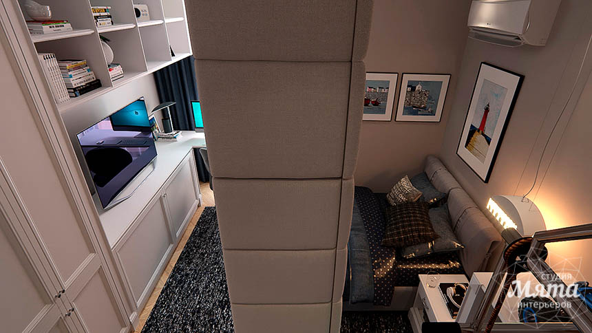 Дизайн интерьера четырехкомнатной квартиры в Новосибирске img1958572270