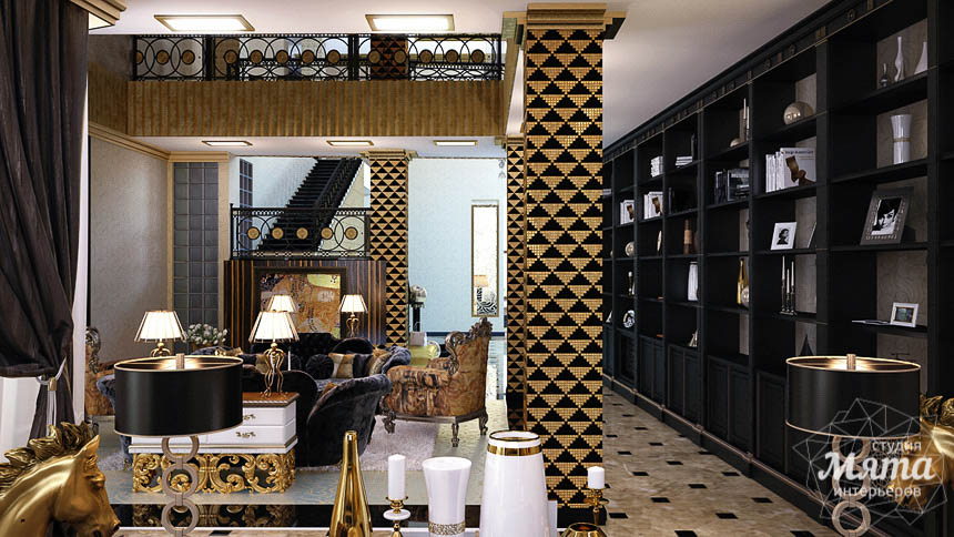 Дизайн интерьера коттеджа в Краснодаре img408114641