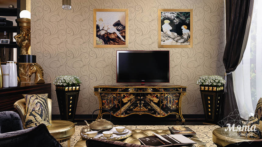Дизайн интерьера коттеджа в Краснодаре img1675038502