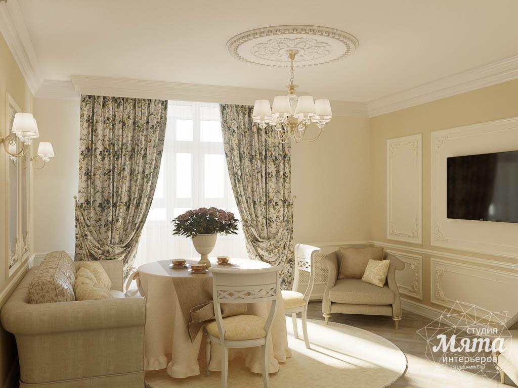 Дизайн интерьера квартиры - студии в ЖК Свой Круг img936298421