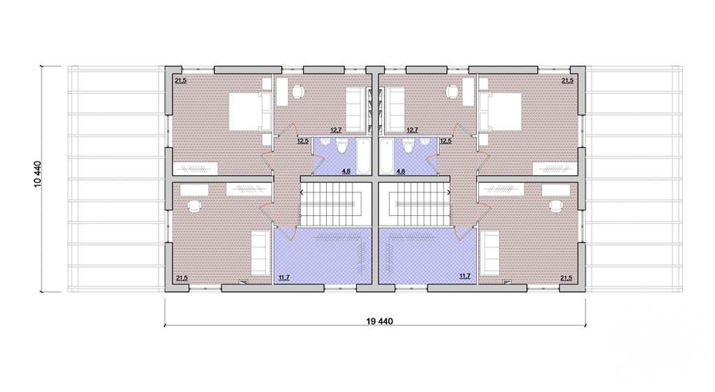 Дизайн-проект фасада коттеджа 335 м2 в КП Лукоморье 3