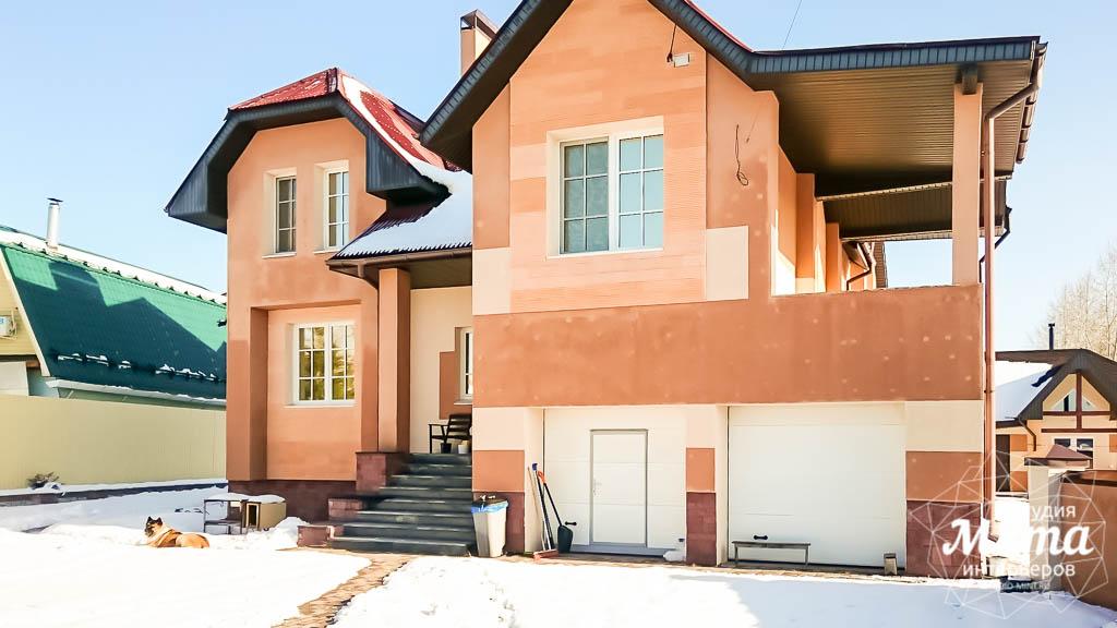 Дизайн проект фасада дома 215 м2 в п. Санаторный 10