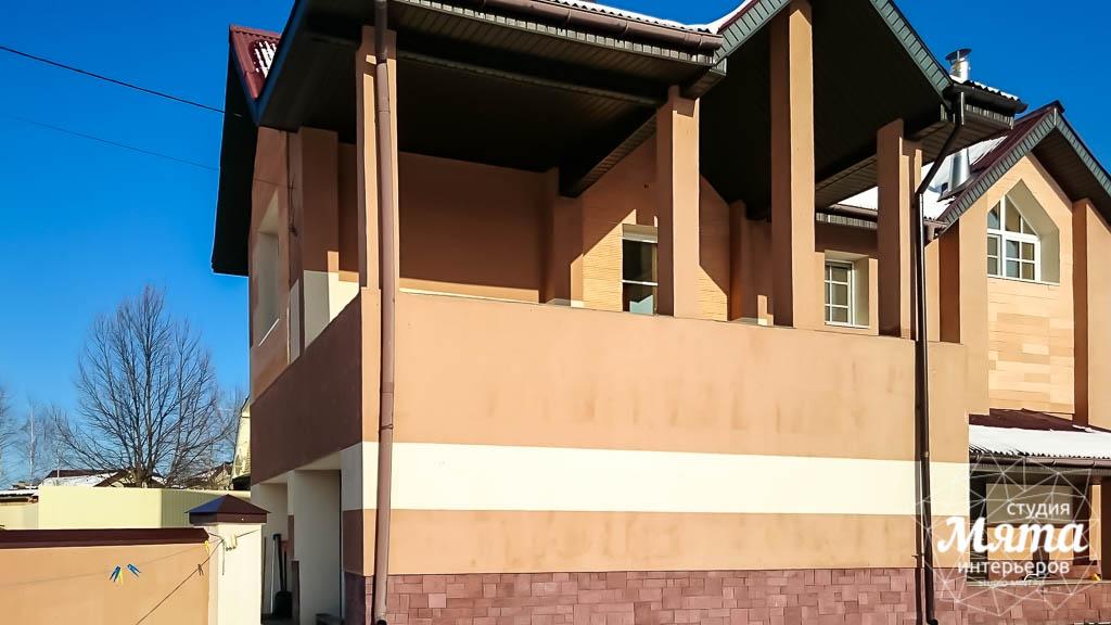 Дизайн проект фасада дома 215 м2 в п. Санаторный 12