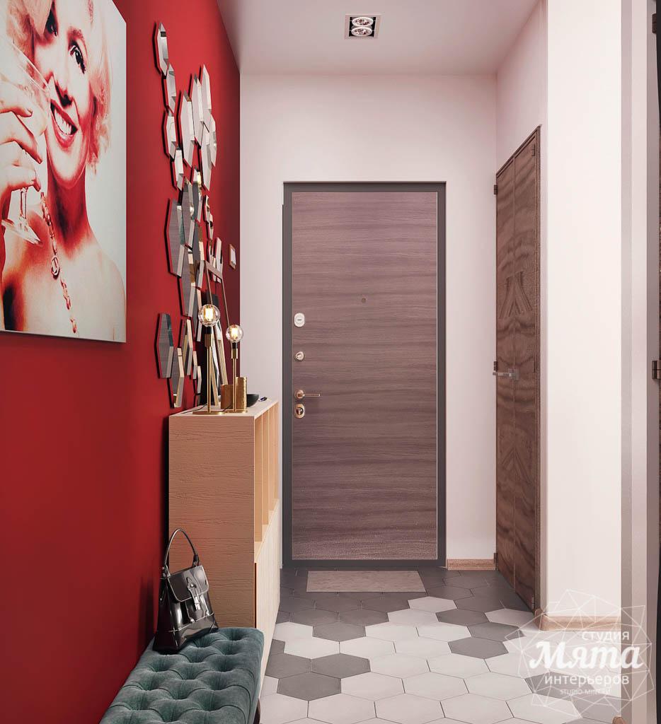 Дизайн интерьера однокомнатной квартиры по ул. Металлургов 14 img1995018110
