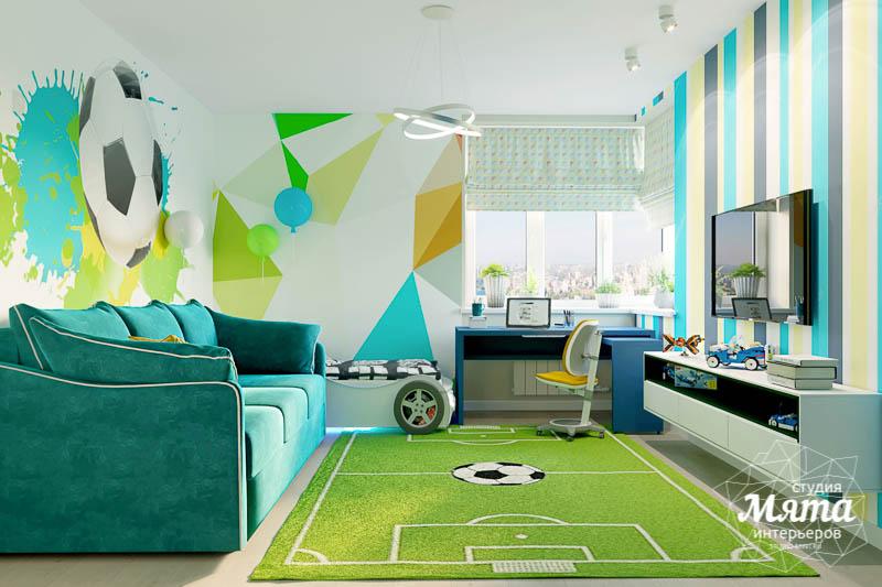 Дизайн интерьера четырехкомнатной квартиры по ул. Блюхера 41 img42580973