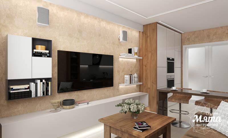 Дизайн интерьера двухкомнатной квартиры в ЖК Первый Николаевский img1642024779