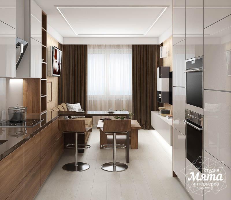 Дизайн интерьера двухкомнатной квартиры в ЖК Первый Николаевский img1787291898