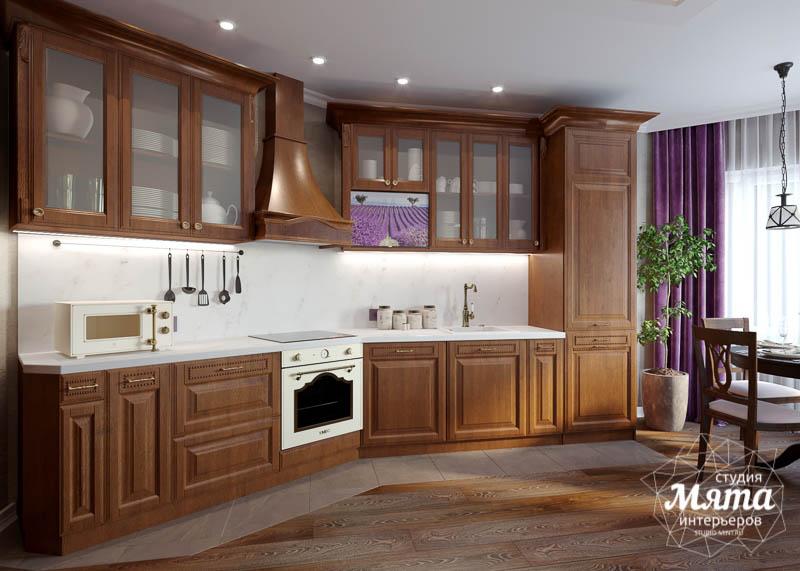 Дизайн интерьера кухни в коттедже п. Верхнее Дуброво img126385287