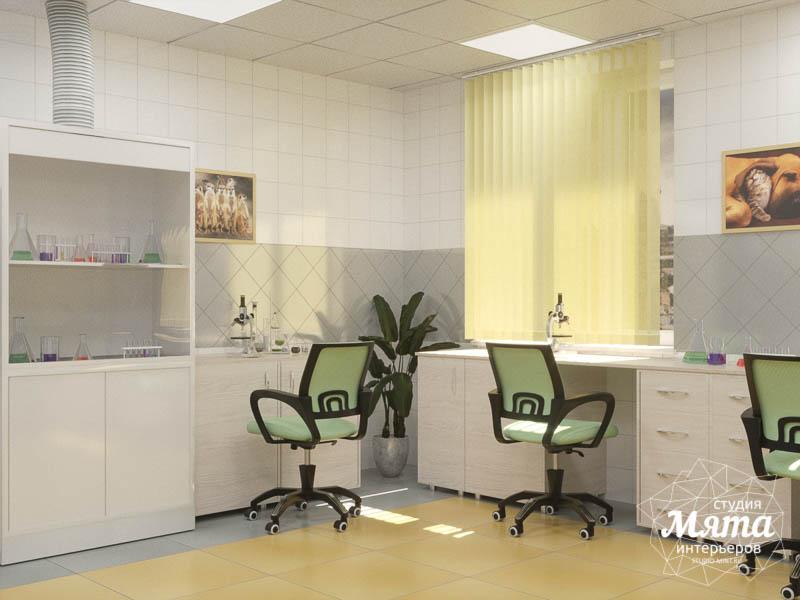 Дизайн интерьера ветеринарной станции г. Екатеринбурга img331836605