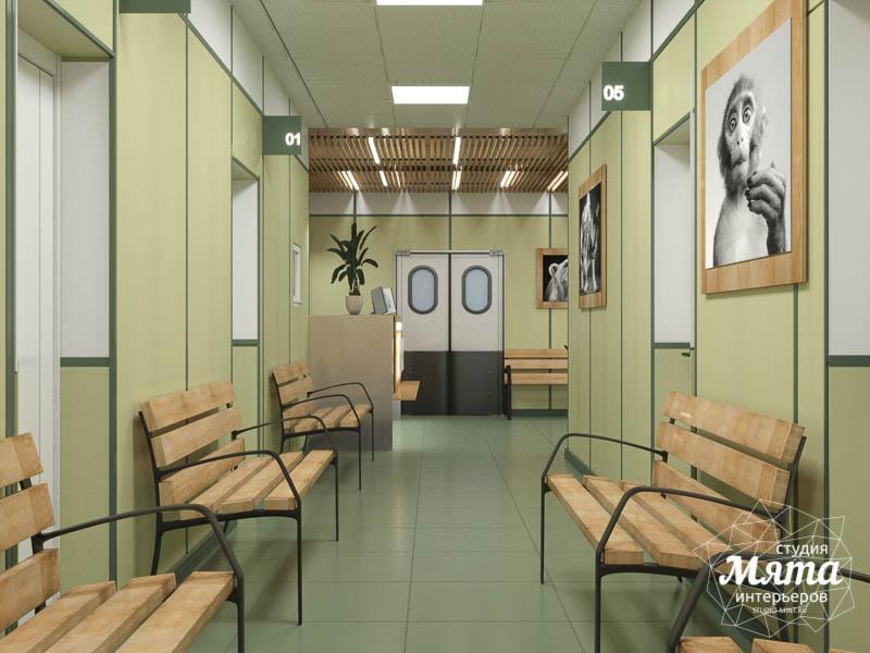 Дизайн интерьера ветеринарной станции г. Екатеринбурга img1141683215