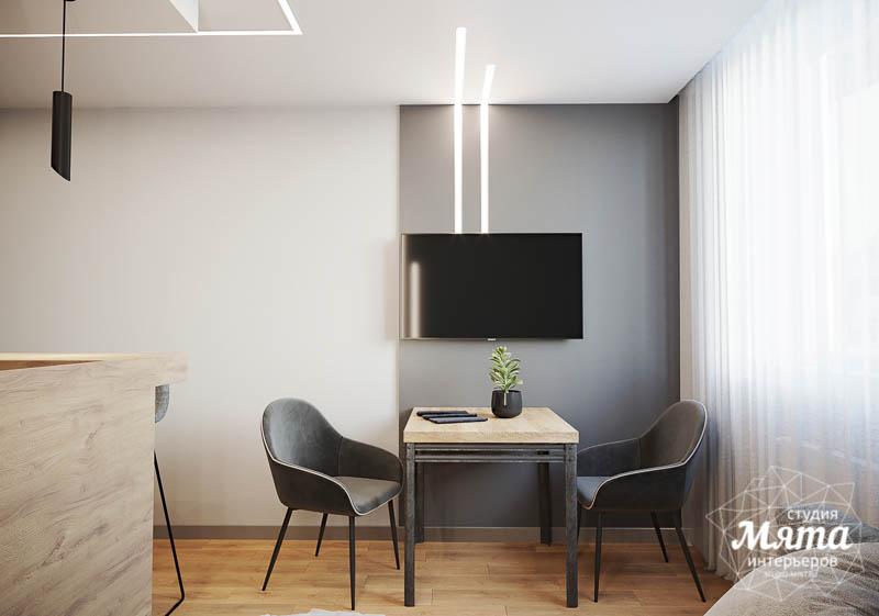 Дизайн интерьера однокомнатной квартиры в ЖК Оазис img639938563