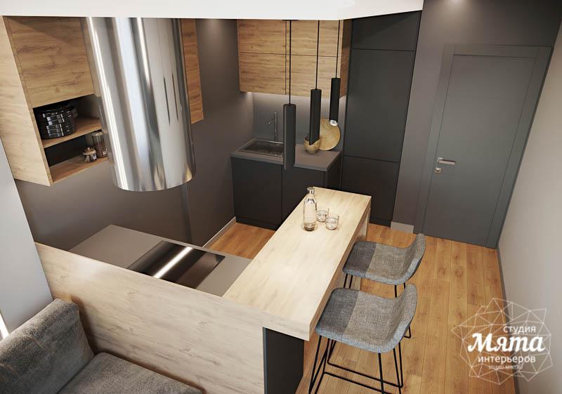 Дизайн интерьера однокомнатной квартиры в ЖК Оазис img1377375544