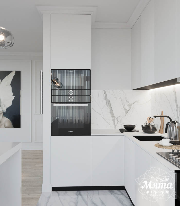 Дизайн интерьера двухкомнатной квартиры в ЖК Чемпион Парк img2014661547