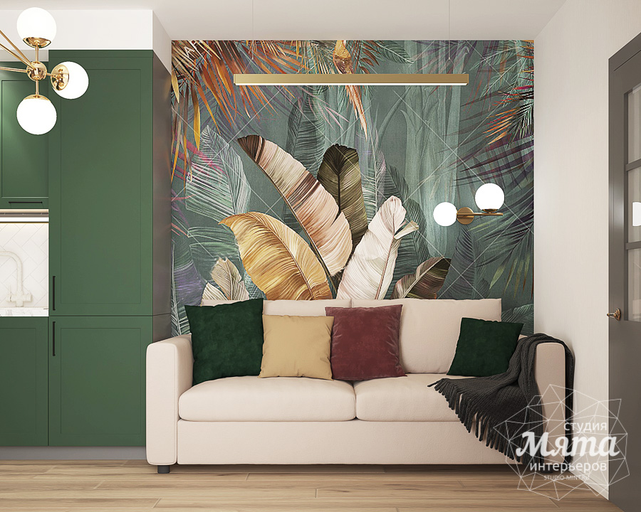Дизайн интерьера однокомнатной квартиры ЖК Цветной Бульвар img268542234