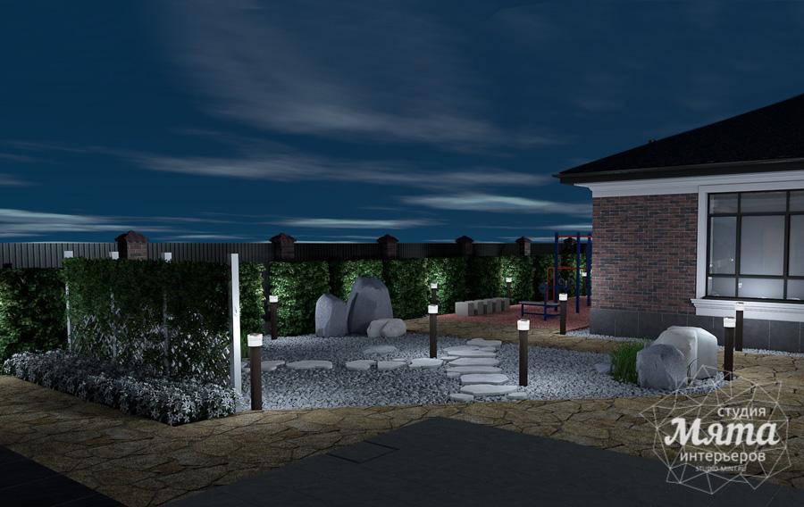 Дизайн фасада дома, бани, гостевого дома и проект участка в Москве img1333113069