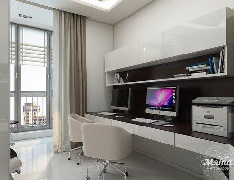 Дизайн интерьера трехкомнатной квартиры по ул. Белинского 86